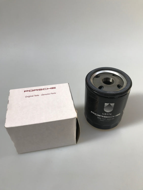 Oil Filter - Genuine Porsche 993.107.203.03 (Short)