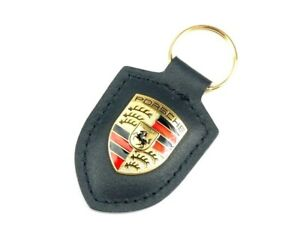 Key Ring - Porsche Emblem Key Ring - BLACK