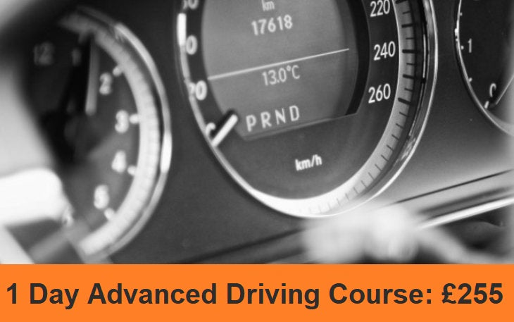 Advanced Driving Course in Cardiff - 1 Day - Deposit £125.00