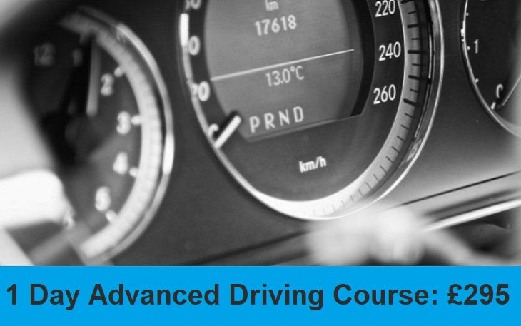 1 Day Advanced Driving Course: £295.00