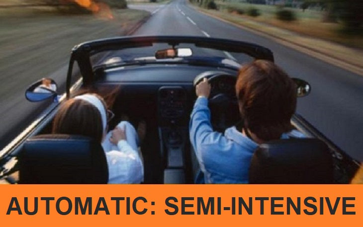 AUTOMATIC £779.00: 2 to 3 Week Semi-Intensive Driving Course [Daytime] - 30 Hours, Deposit £59
