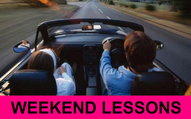 1 Hour Driving Lesson in Leicester: £29.00 [Weekend]