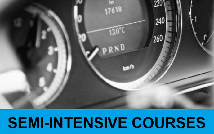 15 Hour Semi-Intensive Driving Course: Deposit £22.50