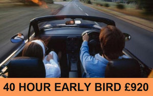 Early Bird Discount: 4 Week Semi-Intensive Driving Course [Daytime] - 40 Hours: Deposit £40.00.