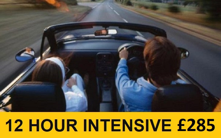 Mini Intensive Driving Course [Daytime] - 12 Hours: Deposit £45.00 - Female Instructor