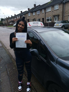 Intensive driving course in Wigston