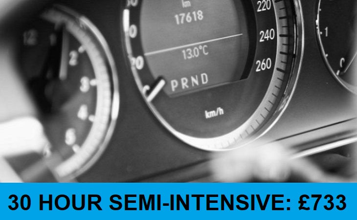 3 Week Semi-Intensive Driving Course [Daytime] - 30 Hours: Deposit £73.00