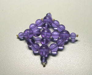 Violet Healing Flame Andara Crystal Specialized Healing Tool