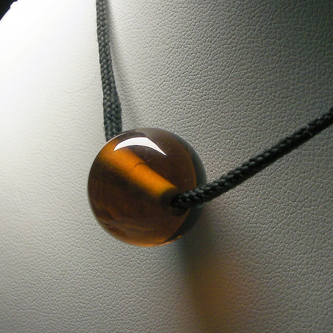 Amber Andara Crystal Simple Wear Pendant