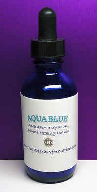 Aqua Blue Andara Crystal Liquid