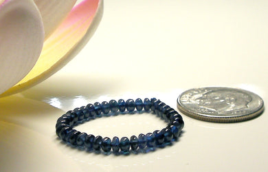 Sapphire - Blue (Simple Heated/Natural) Gem Therapy Ring - Tools4transformation