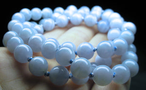 Blue Lace Agate EO++ 8+mm 24inch