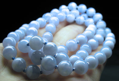 Blue Lace Agate EO++ 8+mm 25inch