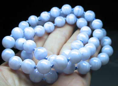 Blue Lace Agate EO++ 10+mm 27inch