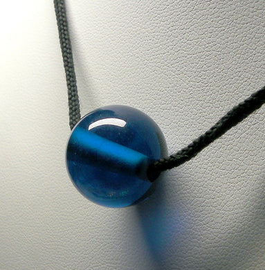 Blue - Bright Dark Andara Crystal Simple Wear Pendant