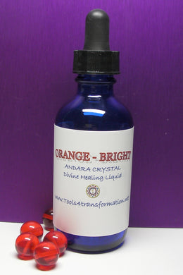 Orange (Bright) Andara Crystal Liquid - Tools4transformation
