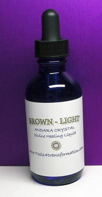 Brown - Light Andara Crystal Liquid