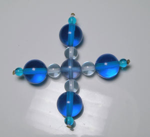 Blue Violet Healing Flame Andara Crystal Specialized Healing Tool