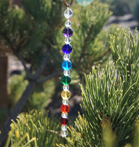 7 Chakra Rays (Large) - Andara Crystal Medi Tool / Light Catcher