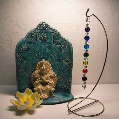 7 Chakra Rays - Andara Crystal Medi Tool / Light Catcher - Tools4transformation