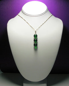 Green (Deep) Andara Crystal with Gold Pendant - Tools4transformation