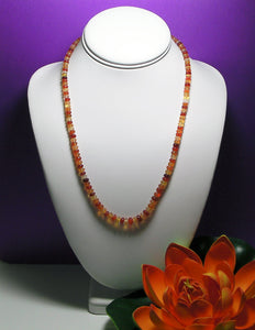 Fire Opal EO+ 5-7mm 21inch - Tools4transformation