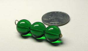 Green Andara Crystal Pendant (3 x 12mm)