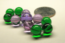 Load image into Gallery viewer, Green Violet Healing Flame Andara Crystal Specialized Healing Tool