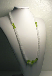 Green - Light Andara Crystal Necklace 28inch - Tools4transformation