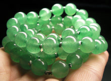 Load image into Gallery viewer, Light Green Aventurine EO+ 8+mm 24inch - Tools4transformation