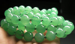 Light Green Aventurine EO+ 8+mm 26.5inch - Tools4transformation