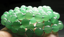 Load image into Gallery viewer, Light Green Aventurine EO++ 8+mm 24.5inch - Tools4transformation