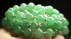 Light Green Aventurine EO++ 8+mm 25.5inch - Tools4transformation