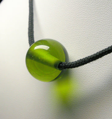 Green Light Andara Crystal Simple Wear Pendant
