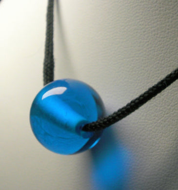 Blue - Bright Medium Andara Crystal Simple Wear Pendant
