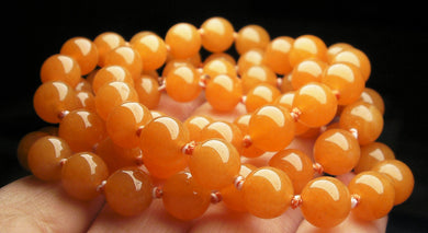 Peach Aventurine EO 8+mm 25.5inch