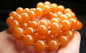 Peach Aventurine EO 8+mm 25inch