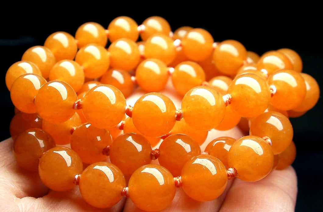 Peach Aventurine EO+ 8+mm 24.5inch
