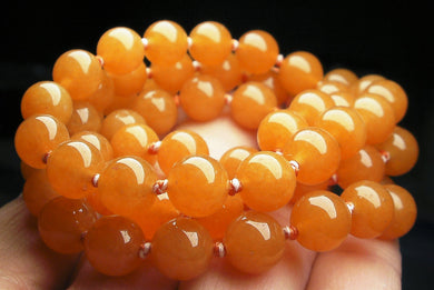 Peach Aventurine EO 8+mm 24inch