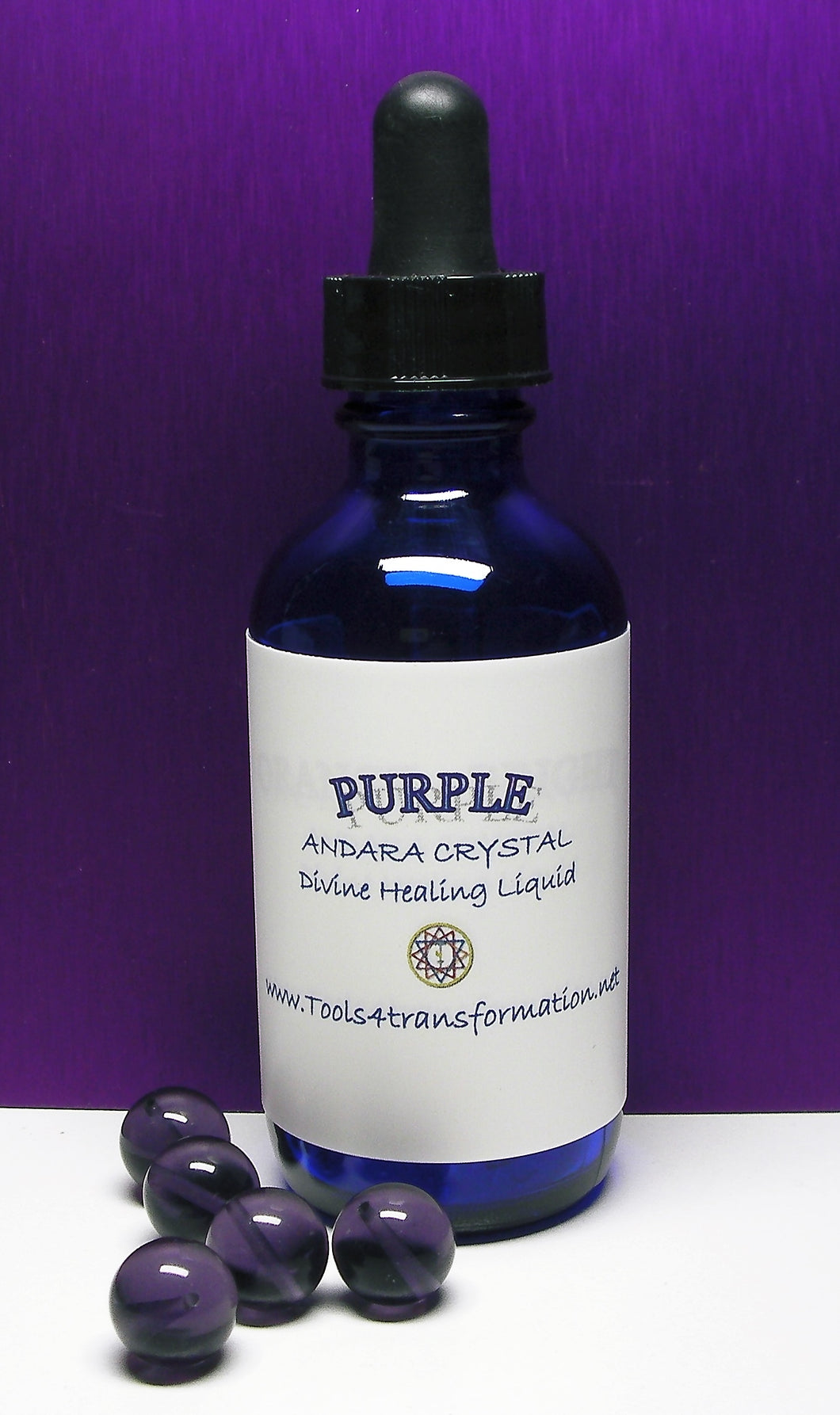 Purple Andara Crystal Liquid - Tools4transformation