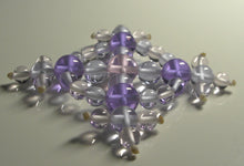 Load image into Gallery viewer, Pink Violet Healing Flame Andara Crystal Specialized Healing Tool
