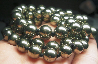 Pyrite EO++ 8+mm 25inch