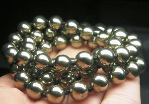 Pyrite EO++ 8+mm 24.5inch