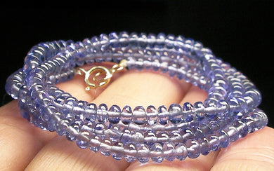 Tanzanite EO+ 3-4mm 20inch - Tools4transformation