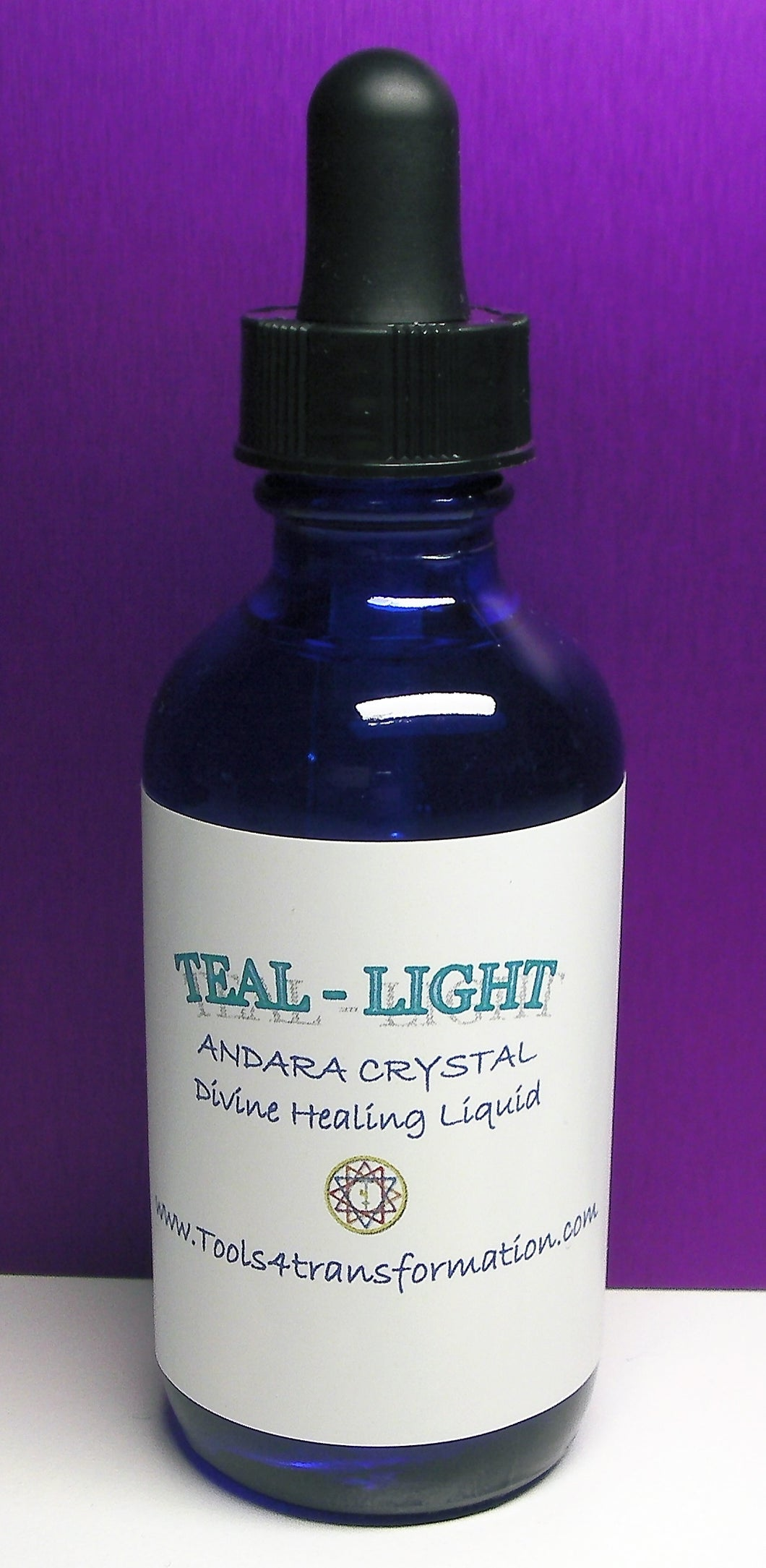 Teal - Light Andara Crystal Liquid