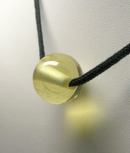 Yellow Andara Crystal Simple Wear Pendant