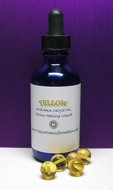 Yellow - Golden Andara Crystal Liquid - Tools4transformation