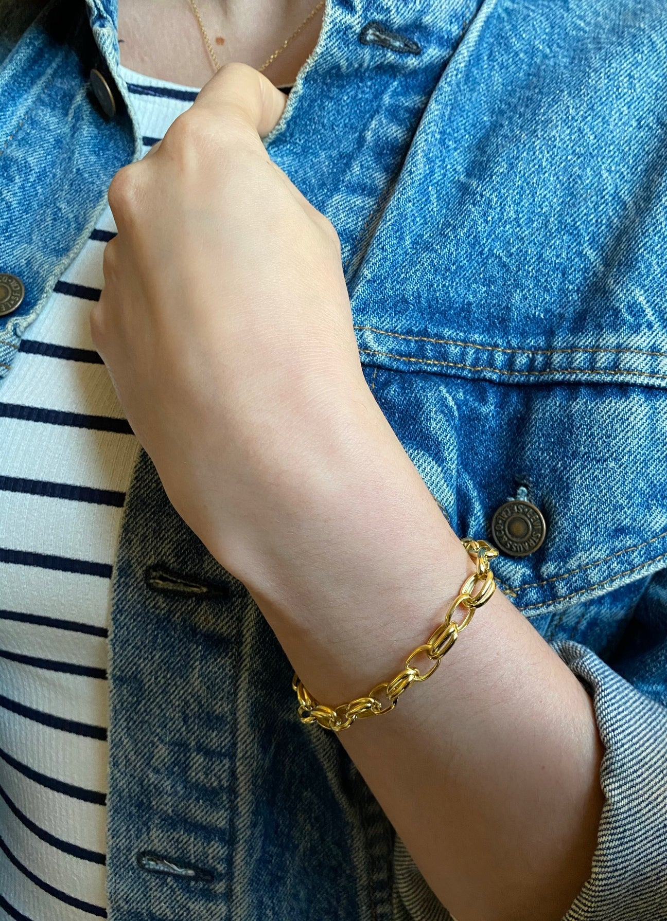 The Classic link chain bracelet