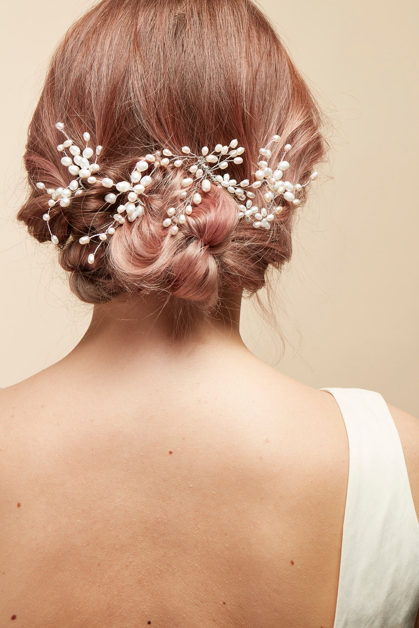 wedding hair vine
