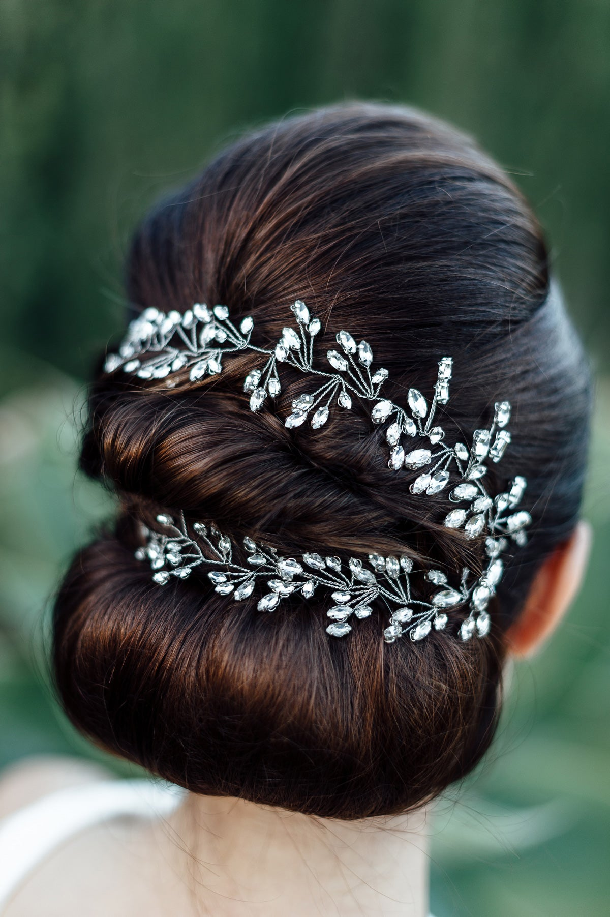 crystal hair vine uk wedding